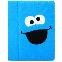 iSound Sesame Street Cookie Monster Plush Portfolio for iPad 2 and iPad 3rd/4th generation