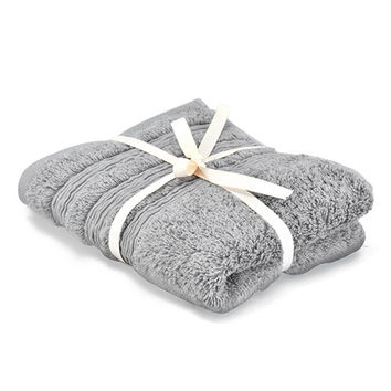 NITORI 21TC Egyptian Cotton Towel - Dark Grey