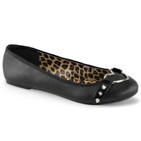 Demonia O-Ring Heart Flats