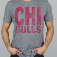 NBA Chicago Bulls Time Out Triblend - Men's New Arrivals - All - Junk Food Clothing