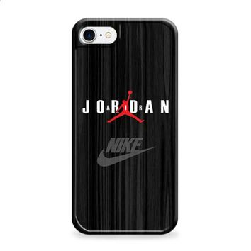Air Jordan black wood grain iPhone 6 | iPhone 6S case