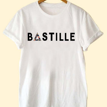 Bastille Nebula  clothing T Shirt Mens and T Shirt Girls customized