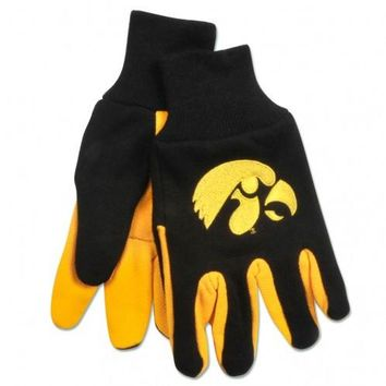 Iowa Hawkeyes - Adult Two-Tone Sport Utility Gloves