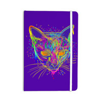 "Frederic Levy-Hadida ""Candy Cat Purple"" Rainbow Purple Everything Notebook"
