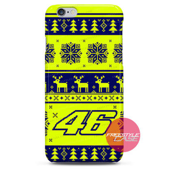 Valentino Rossi VR46 Winter Test 2015 Graphic Edition iPhone 6 6 Plus 5s 5c 4 3 iPod Case Cover Series