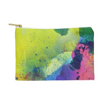 CayenaBlanca Ink Splashes Pouch