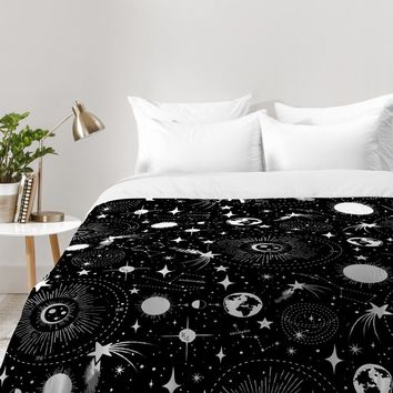 Heather Dutton Solar System Comforter