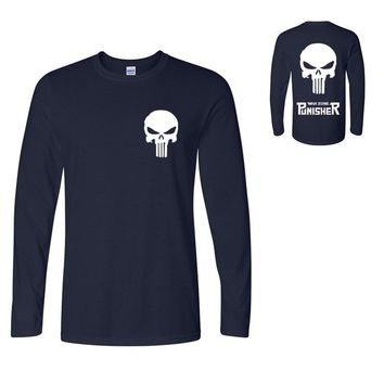 the homme skull printing men long sleeve t shirts hipster tops 2017 summer autumn crossfit hip hop t-shirts man homme mma