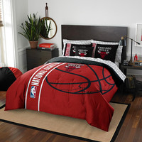 Chicago Bulls NBA Full Comforter Bed in a Bag (Soft & Cozy) (76in x 86in)