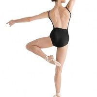 Bloch Taja Embroidery Anglaise Tuck Front Cami Leotard / Bloch