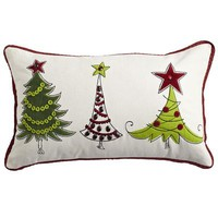 Holiday Trees Pillow