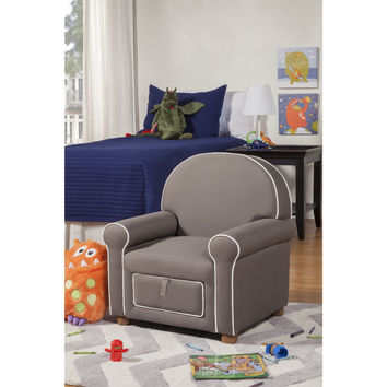Kids Children Toddlers Upholstered Fabric Bedroom Arm Chair Sofa Seating
