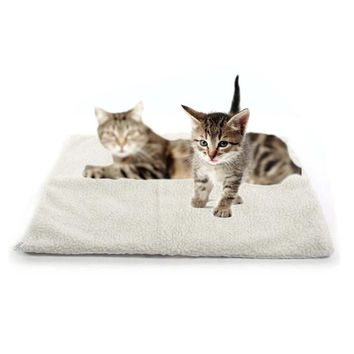 Self Heating Oxford Farbric Cat Blanket  Bed