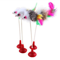 Playing Rod Suction Cup Vertical Mouse