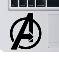 The Avengers Logo Vinyl Decal - iPad / tablet / car / laptop