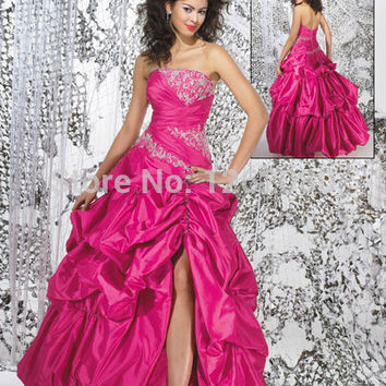 New Gothic Princess Ball Gown Beading Embroidery strapless Floor length Muticolor49 Quinceanera Dresses custom made Alternative Measures - Brides & Bridesmaids - Wedding, Bridal, Prom, Formal Gown
