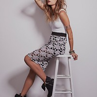 Womens Everything Rosey Pencil Skirt