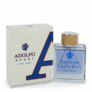 Adolfo Sport by Adolfo Eau De Toilette Spray 3.4 oz (Men)