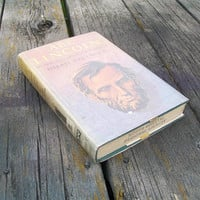 Vintage Book Abe Lincoln An Anthology compiled and edited by Hilah Paulmier 1953
