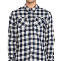 Scotch & Soda L/S Button Down in Navy