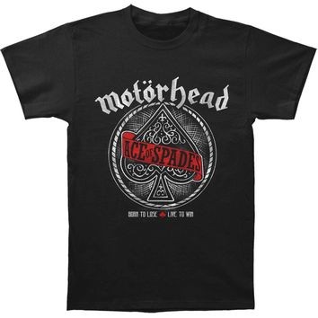 Motorhead Men's  MNFSTR Ace Of Spades T-shirt Black