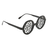 Black Round Dreamcatcher Glasses