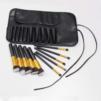 Beauty Hot Deal On Sale Make-up Hot Sale 10-pcs Luxury Make-up Brush [6050160705]