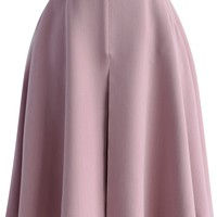 Spring Mood A-line Skirt in Lilac