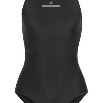 Adidas by Stella McCartney - Mesh-paneled swimsuit