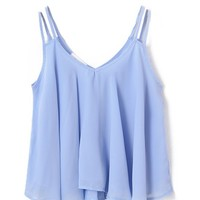 Candy Color Chiffon Tank
