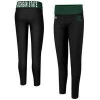 Michigan State Spartans Ladies Pivot II Leggings - Black