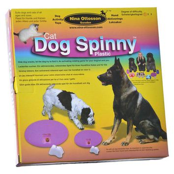 Dog Spinny Activity Toy