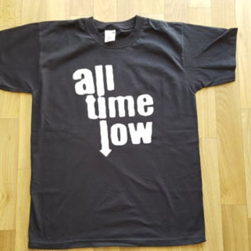 All Time Low Men T-shirt Women T-shirt Unisex T-shirt Rock  Shirt Gift for Birthday  Rocker Funny 3 Colors t-shirt