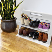 quirky - Stepper Portable Shoe Rack
