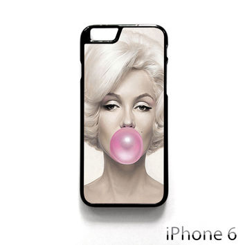 Marilyn Monroe Bubble Gum for Iphone 4/4S Iphone 5/5S/5C Iphone 6/6S/6S Plus/6 Plus Phone case