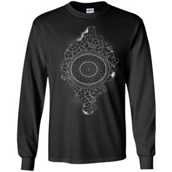 Attractive Sacred Geometry Seed Of Life Meaning 2017 T Shirt
