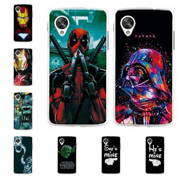 Deadpool Dead pool Taco Charming  Spiderman Case Coque For For LG Google Nexus 5 E980 Hard Plastic Phone Cases For Nexus5 D821 D820 Back Cover AT_70_6