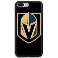 Vegas Golden Knight Team Logo Fit Hard Case For iPhone 6 6s 7 8 Plus X Cover +