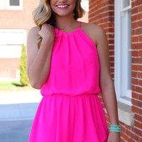 Infused With Fuchsia Romper