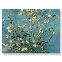 Branches with Almond Blossom by Vincent van Gogh Postcards from Zazzle.com