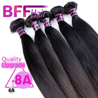 Rosa Hair Products Brazilian Virgin Hair Straight 8A Unprocessed Mink Brazilian Straight Hair Extension Human Hair Weave Bundles