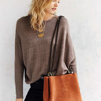 Kimchi Blue Rings Suede Bucket Bag - Urban Outfitters