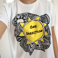 One Direction Sunshine Zentangle shirt