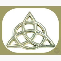 Triquetra Open Cut Altar Tile