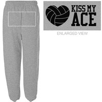 Kiss My Volleyball Ace: This Mom Means Business