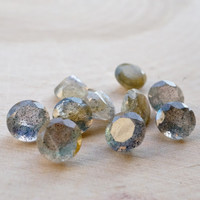6mm faceted labradorite Top Quality Natural Loose gemstones - labradorite Round - FOR ONE