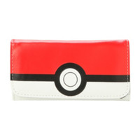 Pokemon Poke Ball Flap Wallet