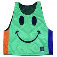 All Smiles Glow In the Dark Neon Random Combo Lax Pinnie