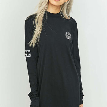 Cheap Monday Strict Long Sleeve Black T-shirt Dress - Urban Outfitters