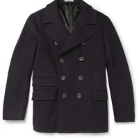 Boglioli Slim-Fit Wool-Blend Coat | MR PORTER